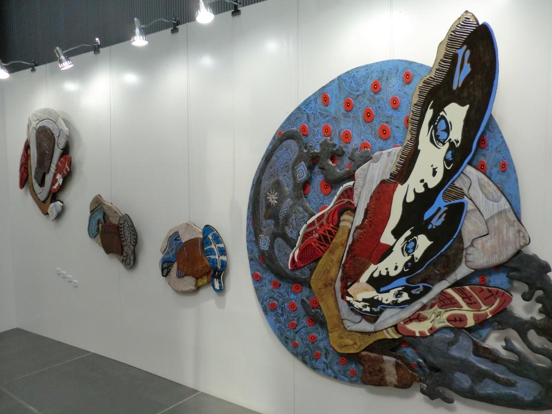 2月22日に展示替えをし、第2ステージが始まりました。
