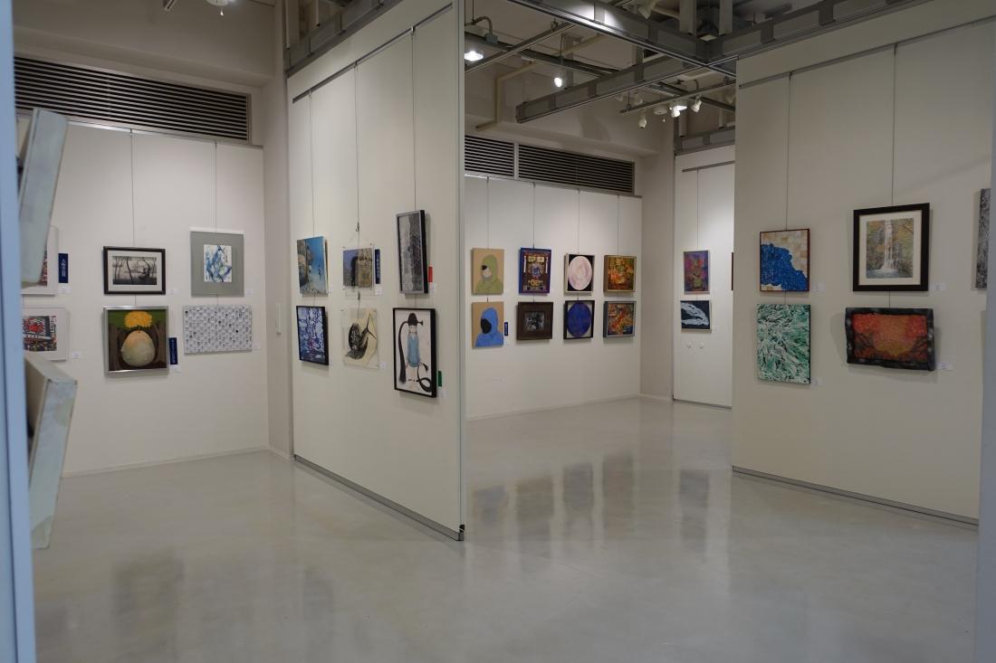 第22回アートムーブコンクール展では251点を展示しました