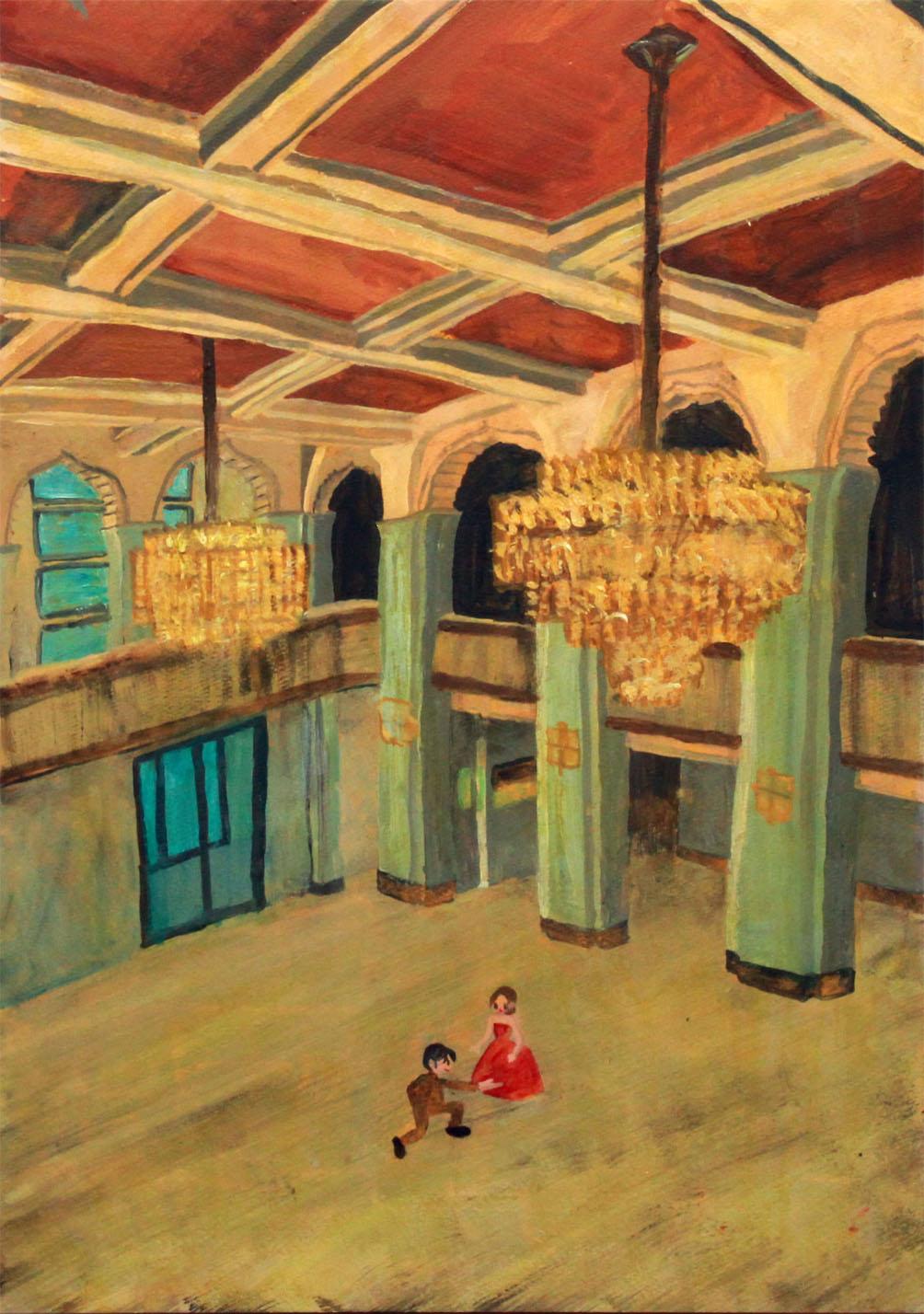 「お屋敷」大阪市立美術館のイメージ。
