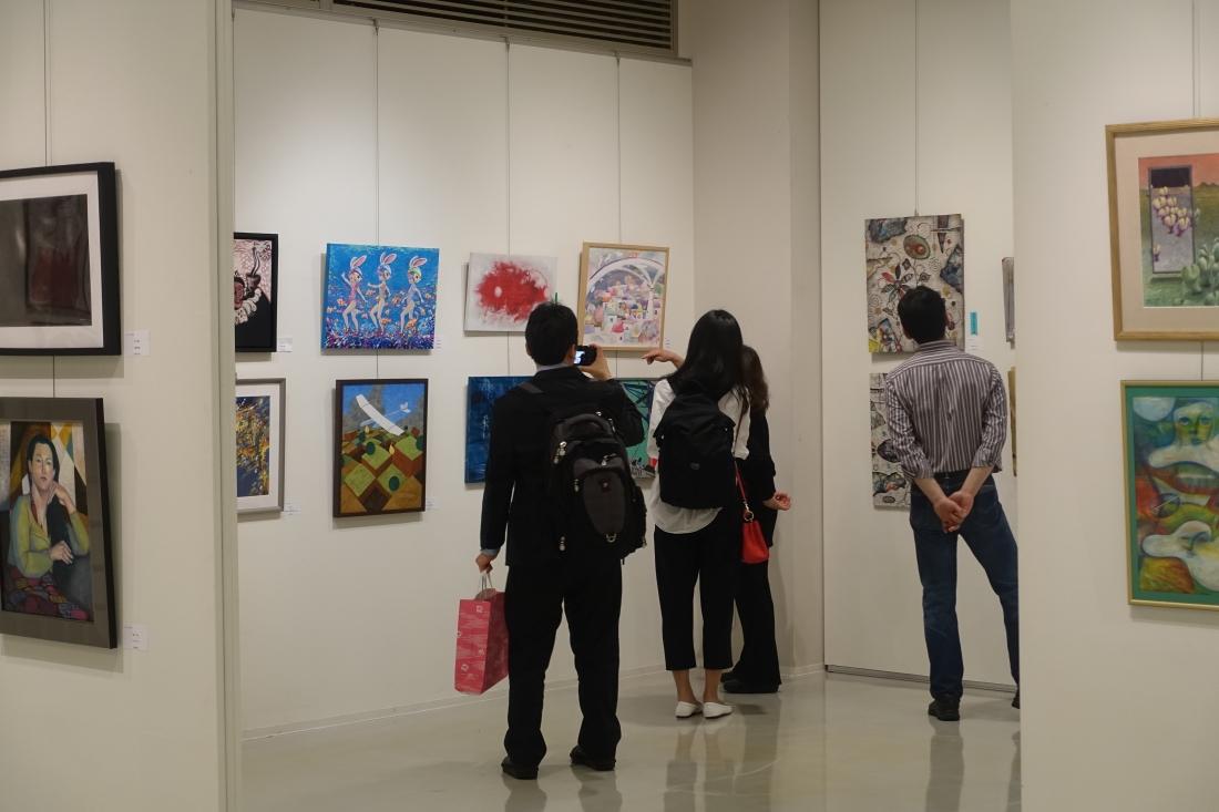展覧会の様子