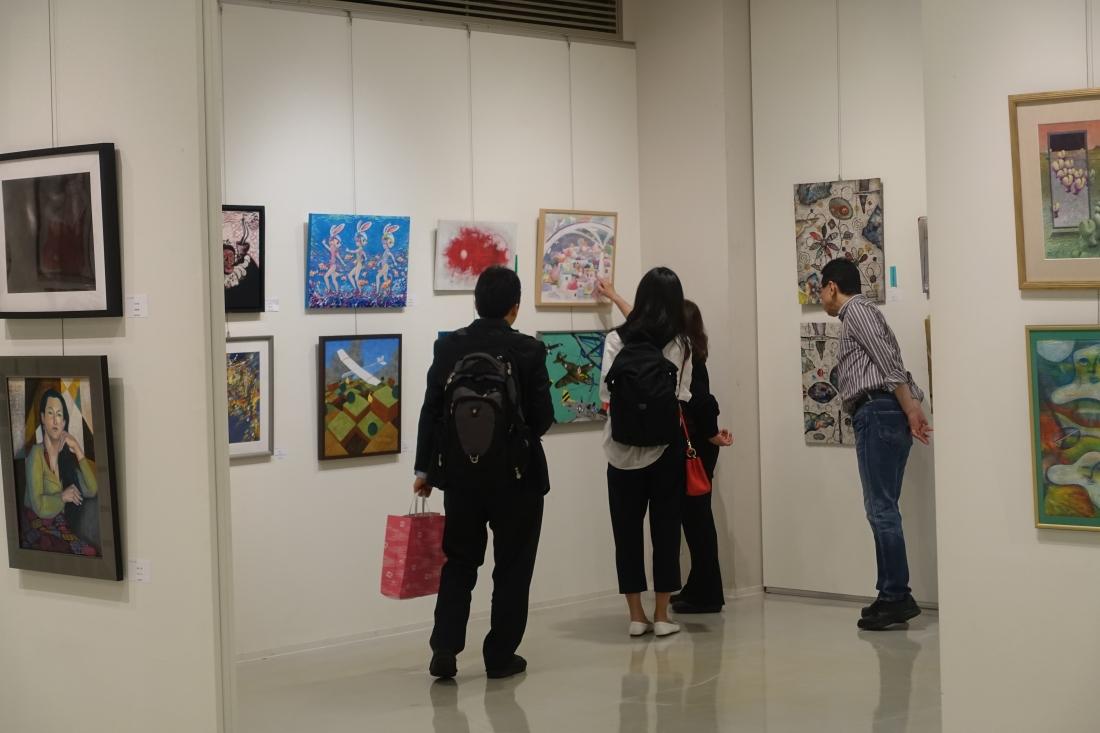 今年も全国各地から応募があり、遠路展覧会をご覧いただいた方も。