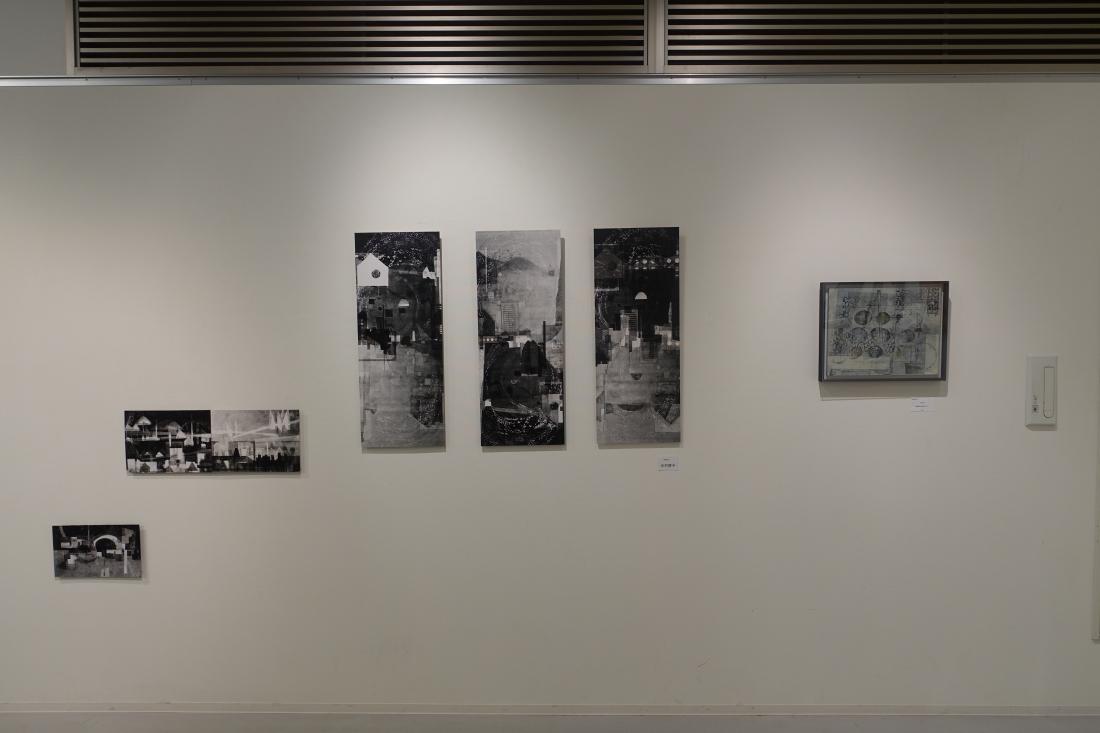 中村啓子さんの作品です。右端が2008アートムーブコンクール大賞受賞作品