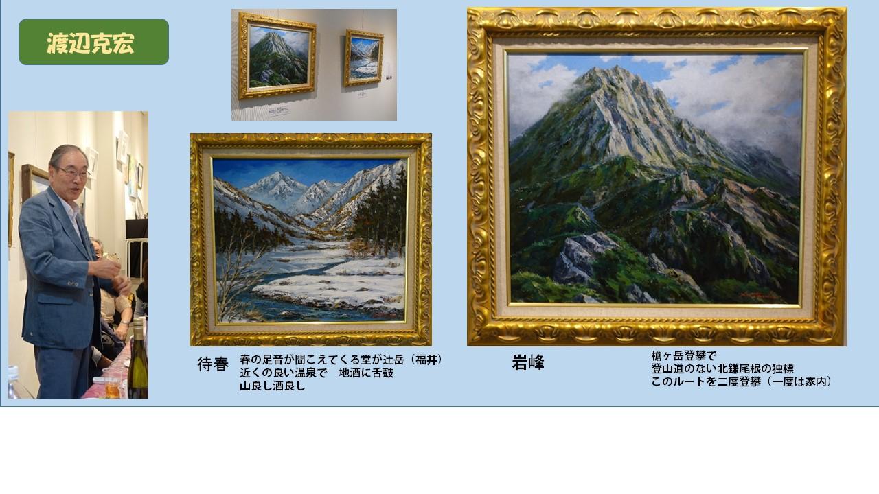 山岳画家。