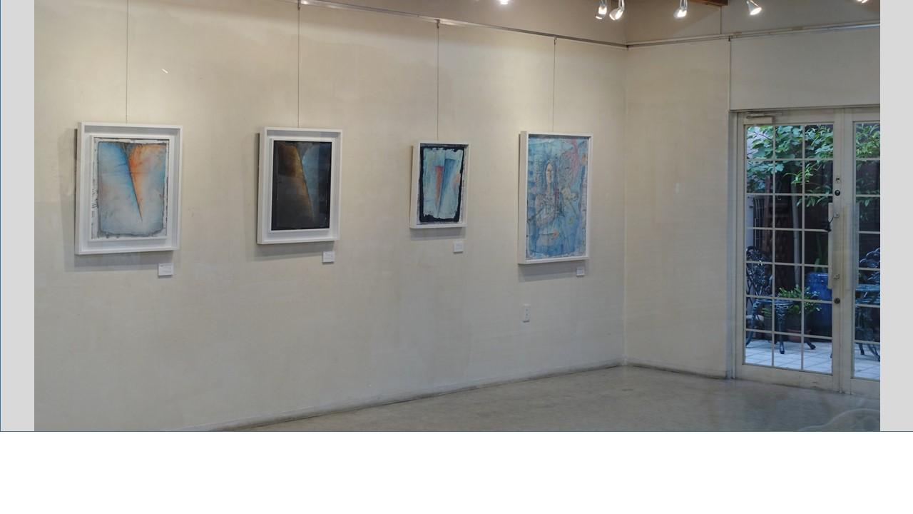 左端が2016第21回アートムーブコンクール ギャラリーいろはに賞受賞作「希望」