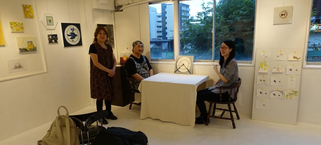 ポテトチップス山下、Nano Galleryのりまきせんべいさん、小田明日香さん