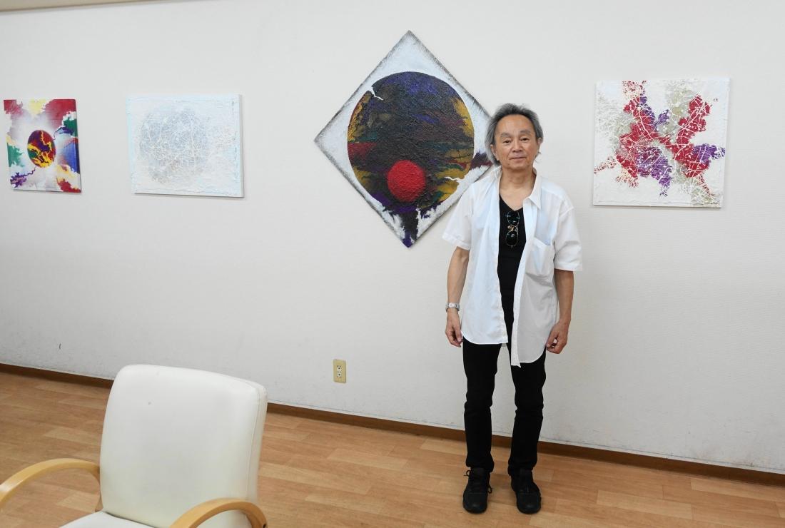 谷口英幸さんです。7月6日に展示しました