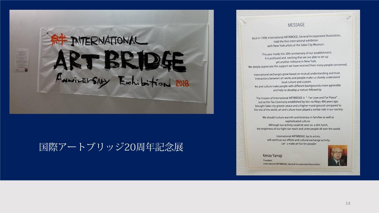 国際アートブリッジ理事長のメッセージ(ヒロ)