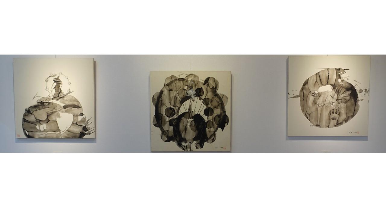 池上武男個展の様子はアートムーブコンクール図録「ARTMOVE」でも紹介します。