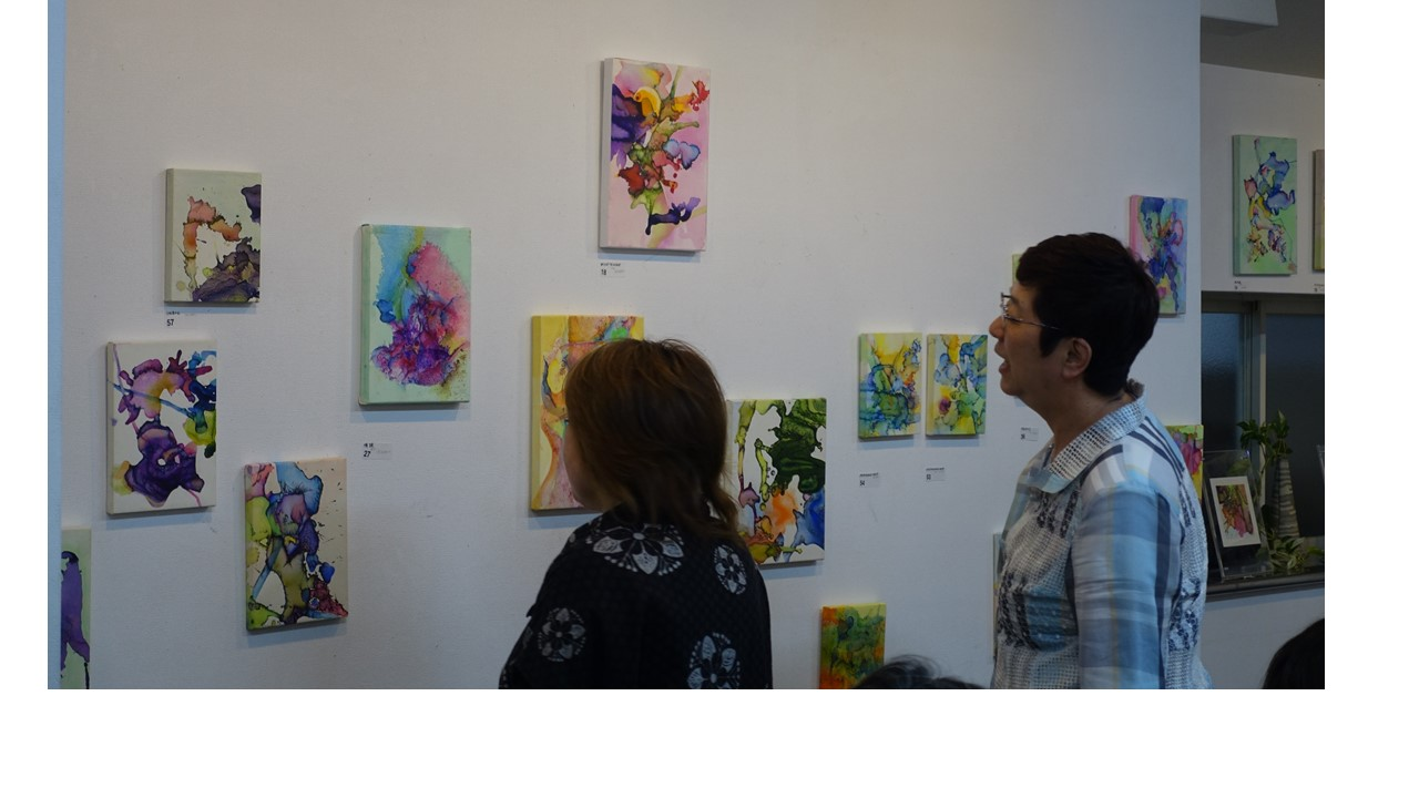 たくさんの作品が展示されていました。